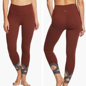 Beyond Yoga Badlands High Waist Strappy Leggings
